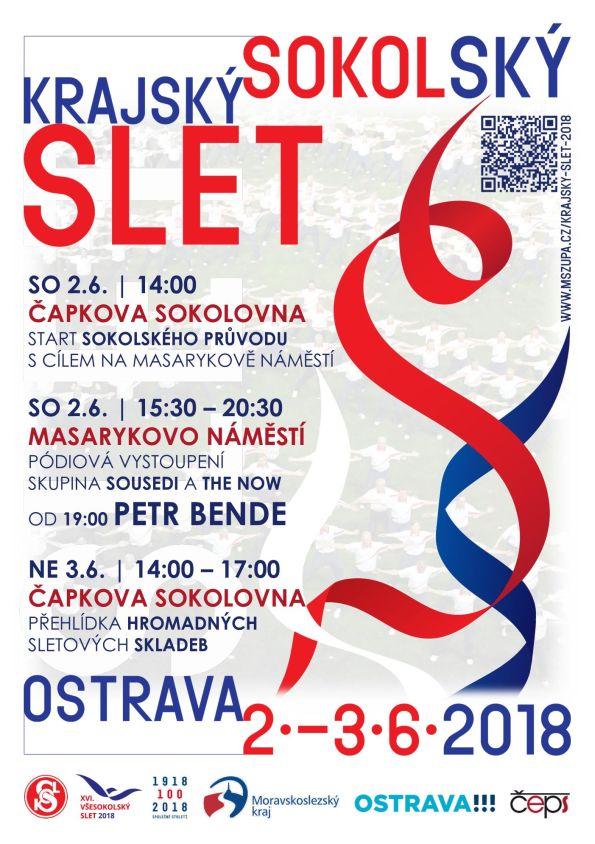 Krajský sokolský slet 2018 v Ostravě