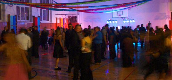 Sokolský ples jednoty Moravská Ostrava