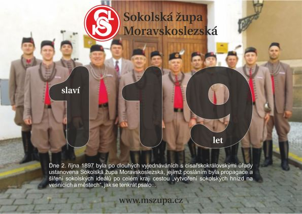 119 let župy